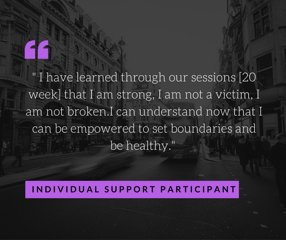 Individual Support Quote